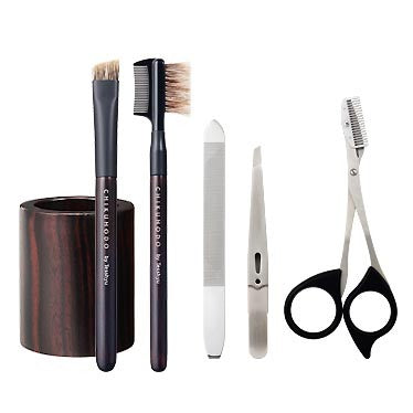 Chikuhodo Mens: SH-9 Grooming Set with Stand