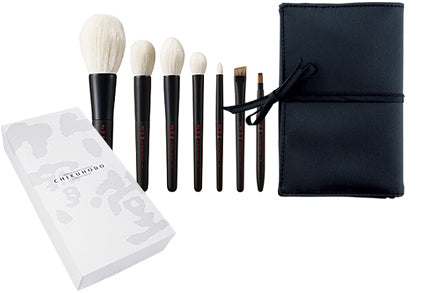 Chikuhodo Takumi Series 7-Piece Brush Set (S-T-7)-Fude Beauty
