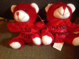 Personalized Valentine's Bears-Valentine's Day-Valentine's Gifts-Plush Bears