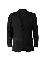 Load image into Gallery viewer, Men's Suit Jacket (BLACK)