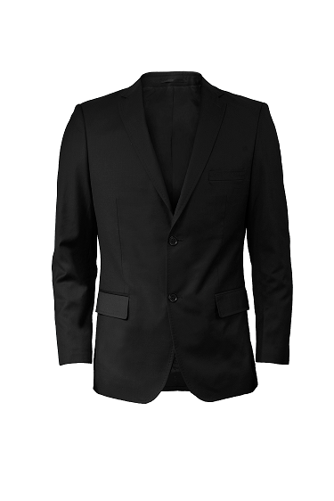 Men's Suit Jacket (BLACK)