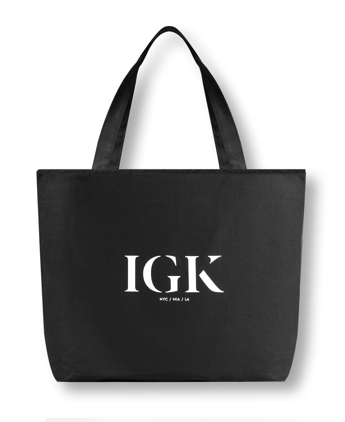 IGK ZIPPERED TOTE