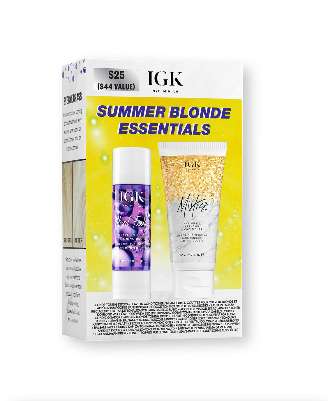 Summer Blonde Essentials