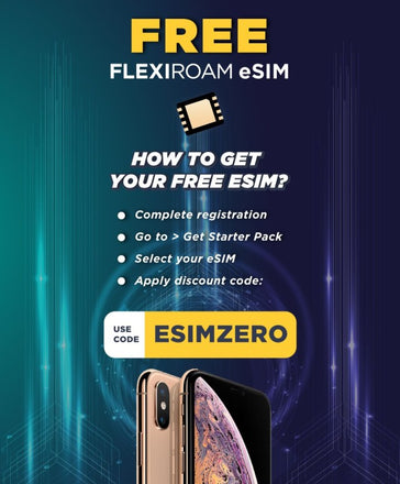 Claim your FREE eSIM
