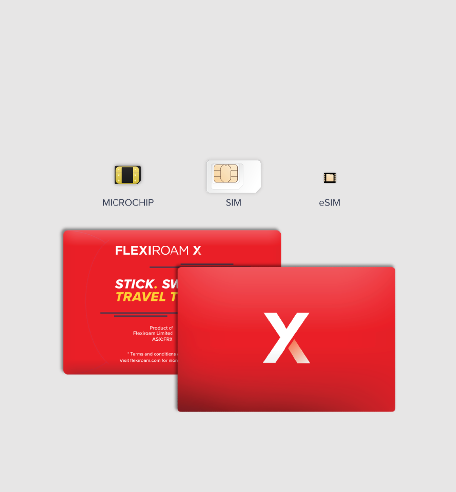 Flexiroam X - Global Roaming Starter Kit