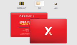 Flexiroam X Global Data Starter Pack