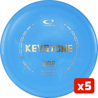 Zero Medium Keystone 5 Pack