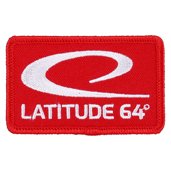 Latitude 64° Patch - Red logo