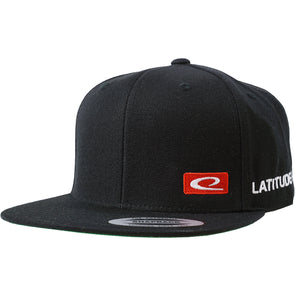 Flat Bill Snapback Cap - Bar Logo