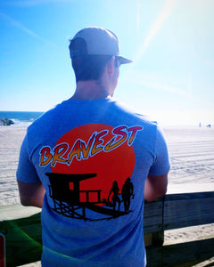 BRAVEST Beach Soft Vintage T-Shirt