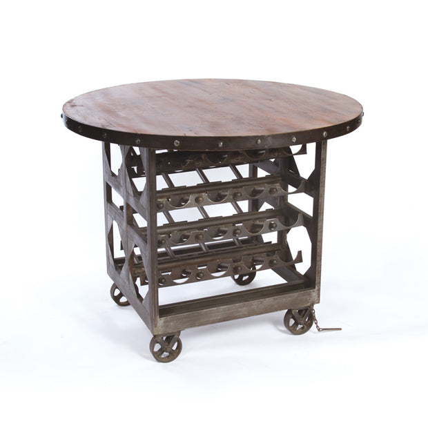 Reclaimed Wood Cellar Table