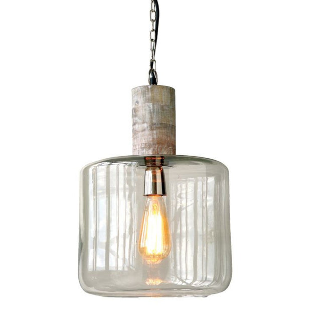 Bungalow Glass Pendant