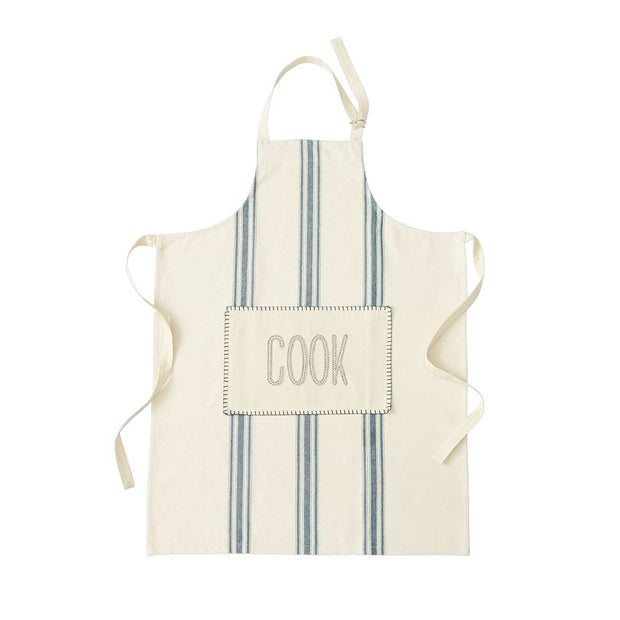 Cotton Grain Sack Apron