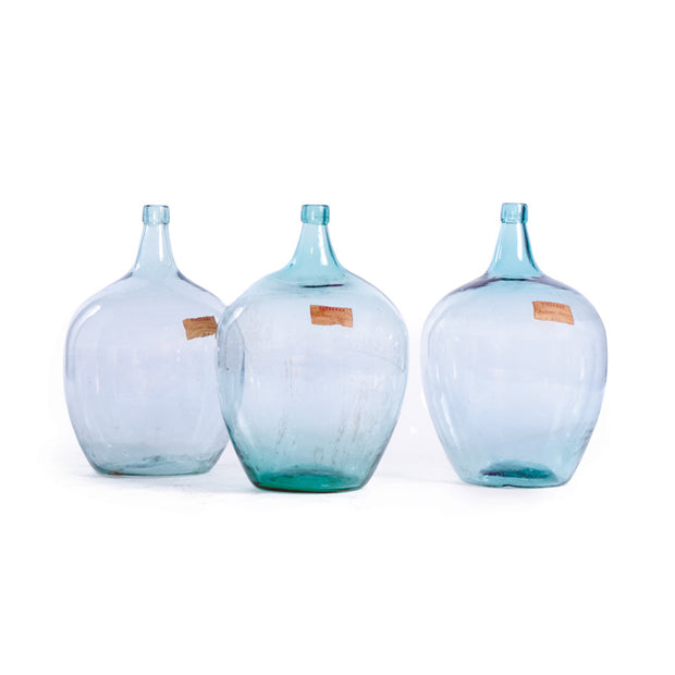 Vintage Glass Demijohn Bottles
