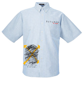 Pin-Stripe O.D Limited Edition Designer Button up