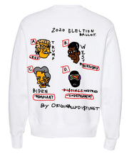 Load image into Gallery viewer, O.D for President Limited Crewneck (White)