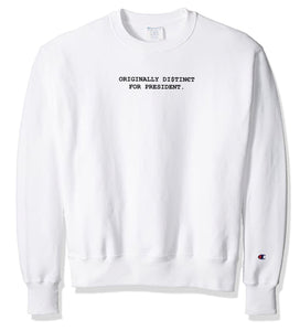O.D for President Limited Crewneck (White)