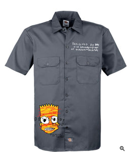 Grey Dickies x O.D Work Shirt