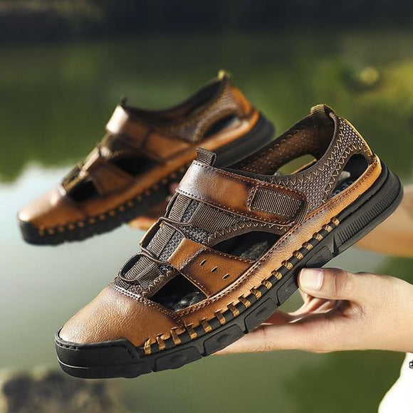 Genuine Leather Beach Sandals