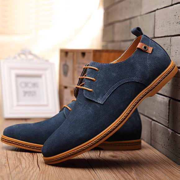 High Quality Suede Leather Dress Shoes