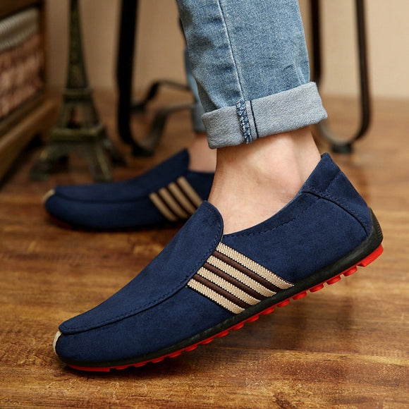 Breathable Canvas Loafers Driving Shoes