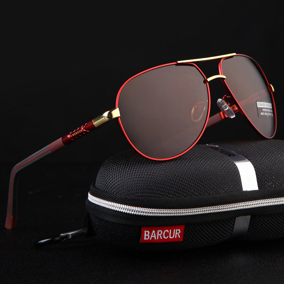 Aluminum Magnesium Polarized Mens Sunglasses