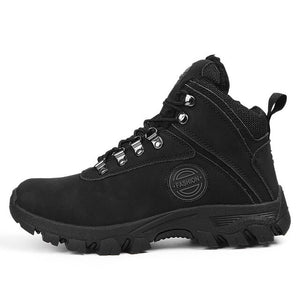 Winter Waterproof Leather Hiking Boots