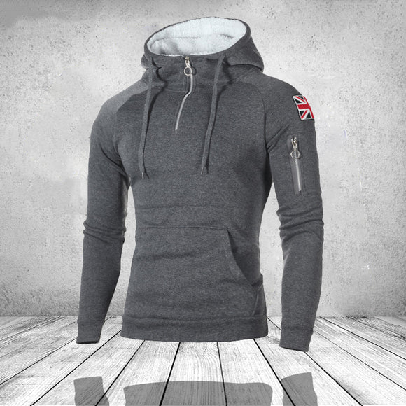 Fashion Mens Zipper Hoodies