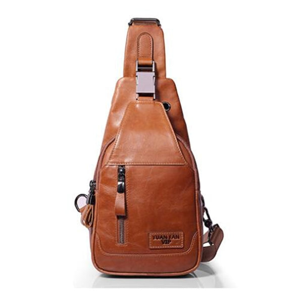 Genuine Leather Chest Bags