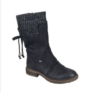 Womens Winter Snow Mid Calf Boots