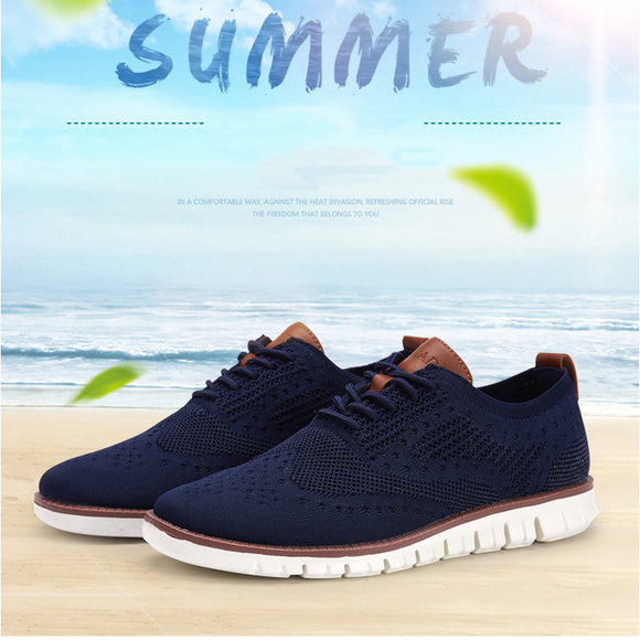 Casual Knitted Mesh Lightweight Soft Shoes