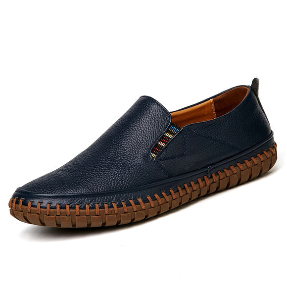Big Size Genuine Leather Loafers