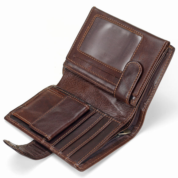 Vintage Mens Genuine Leather Wallets