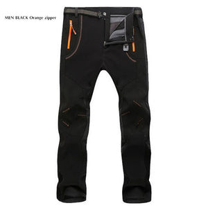 Outdoor Warm Waterproof Windproof Hiking Cargo Pants