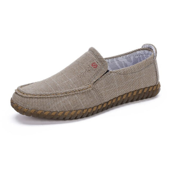 Denim Canvas Casual Loafers