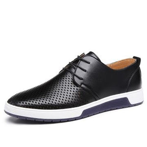 Leather Breathable Casual Shoes