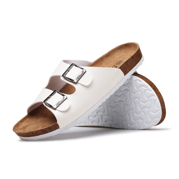 High Quality Leather Soft Slippers