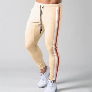 Fitness Striped Sweatpants