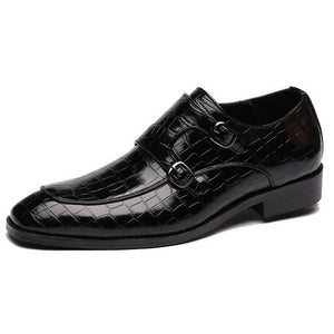 Classic Crocodile Designer Leather Shoes