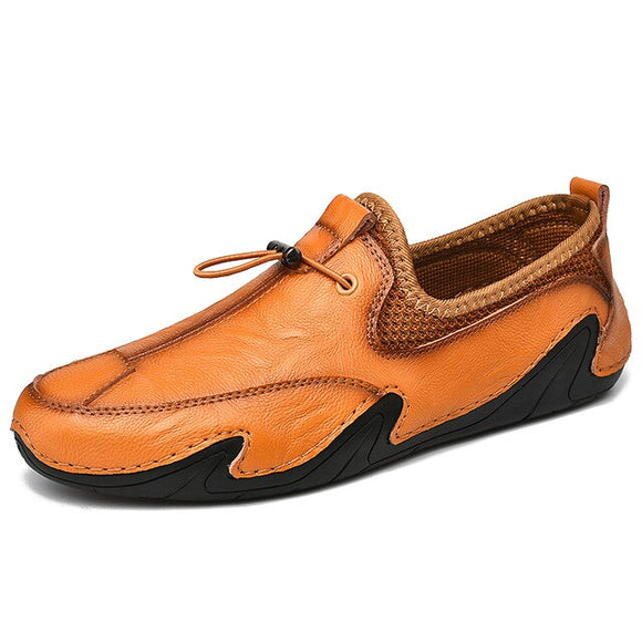 Genuine Leather Breathable Driving Shoes