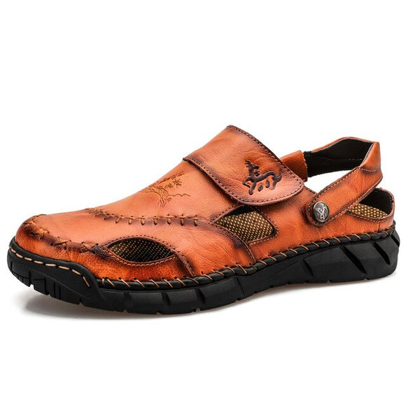 Genuine Leather Roman Sandal
