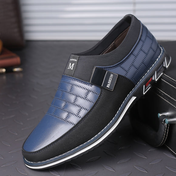Genuine Leather Breathable Mens Casual Shoes