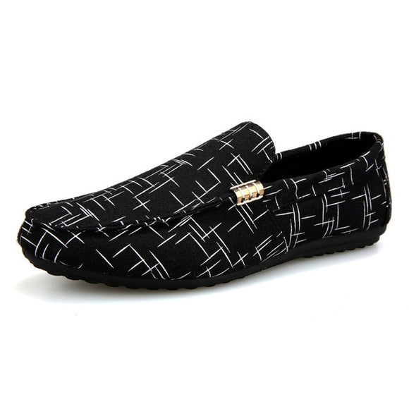 Light Canvas Breathable Loafers
