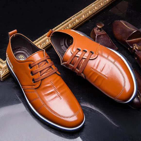 Genuine Leather Men Business Shoes