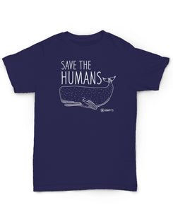 Hemp T Shirt HEMPY'S Save The Humans - Apparel