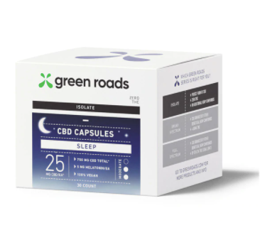 CBD SLEEP CAPSULES - 750MG