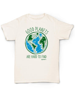 Hemp T Shirt HEMPY'S Good Planets - Apparel