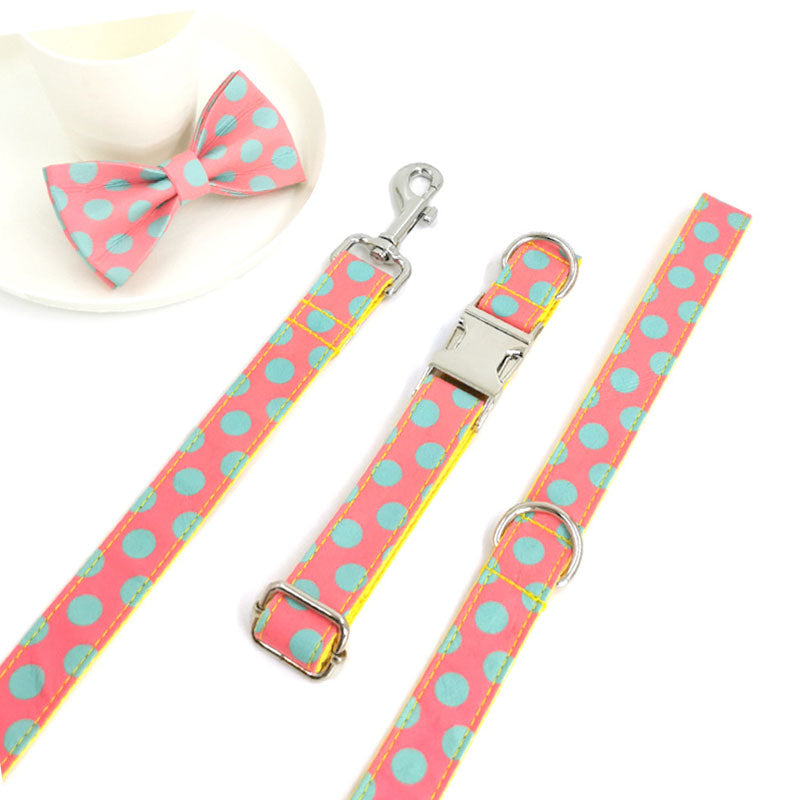 petduro dog collar with leash for girl dogs