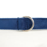 Modern Dog Leash 4ft Thick Lint Fabric for Large Small Dogs Puppies - Deep Blue