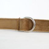 Modern Dog Leash 4ft Thick Lint Fabric for Large Small Dogs Puppies - Camel
